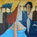 ENE DUE ... 2012, ol. pł., 60x60cm
