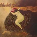 SZALEŃSTWO UNIESIONE 2011, ol. pł., 60x60cm